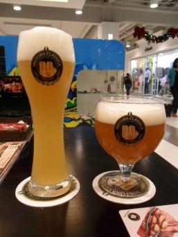 Weiss e Tripel (que nesse copo fica ESPETACULAR! - Clique aqui para acessar o site da cervejaria