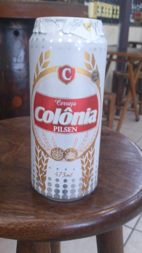 Cerveja de padrão brasileiro
