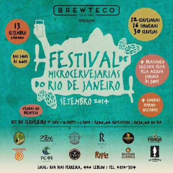 I Festival de Microcervejarias do Rio de Janeiro banner